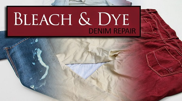 Tutorial: Bleach and dye a pair of jeans