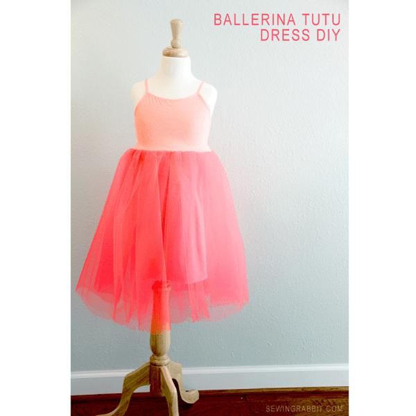 Tutorial: Easy ballerina tutu dress