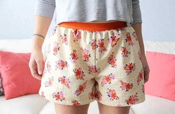 Free pattern: Women's boxer shorts