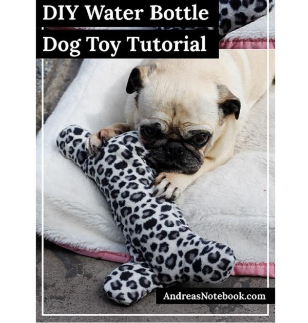 Free pattern: Water bottle dog toy