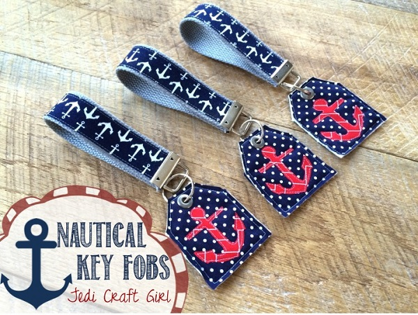 Tutorial: Nautical key fobs