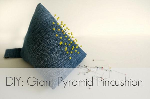 Tutorial: Pyramid pincushion