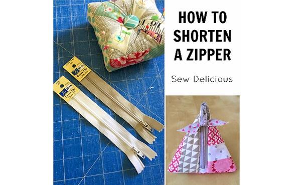 Tutorial: Shorten a zipper by adding a fabric tab