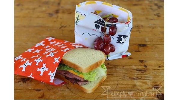 Tutorial: Reusable snack bags