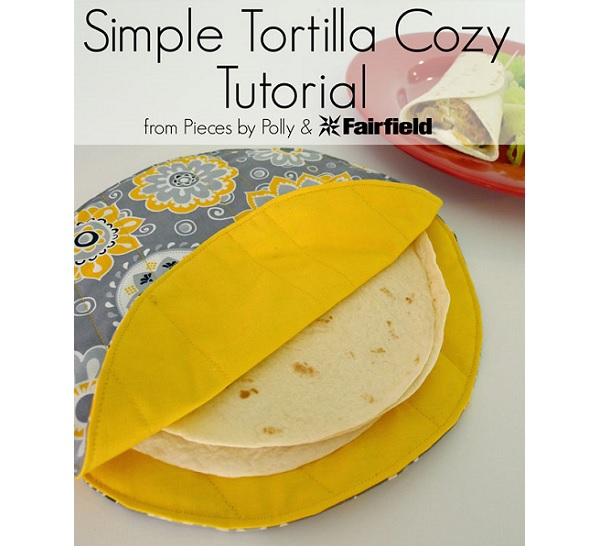 Tutorial: Sew a tortilla cozy