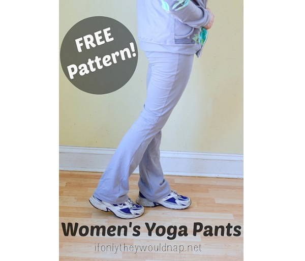 Free pattern: Women's yoga pants