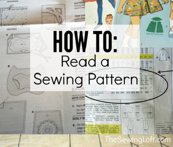 Tutorial: How to read a sewing pattern