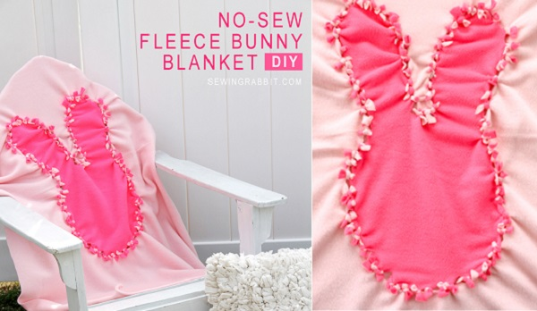 Tutorial: No-sew knotted animal blanket