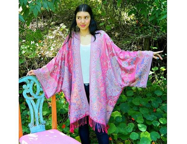 Kimono Scarf Knitting Pattern : Tutorial: Easy scarf kimono   Sewing