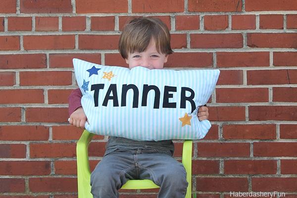 Tutorial: Make a kids name pillow