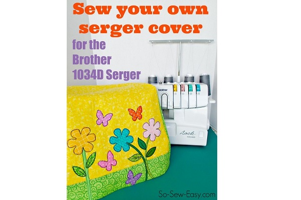 Free pattern: Cover for a Brother 1034D serger