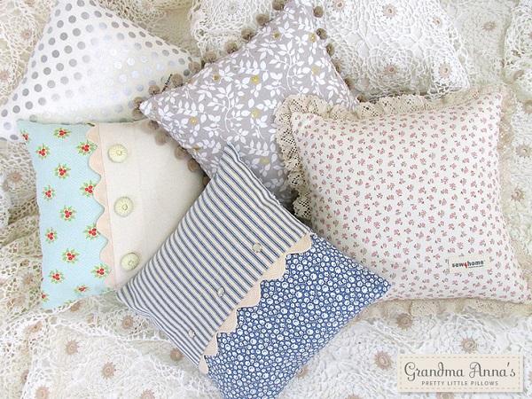Tutorial: Pretty Little Pillows