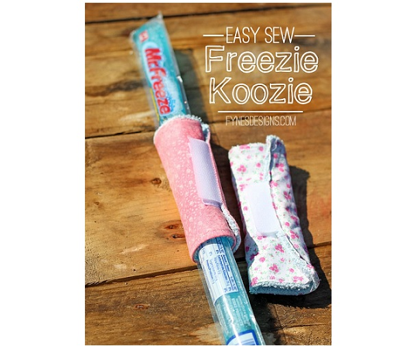 Tutorial: Easy freezer pop koozie