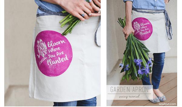 Tutorial: Deep pocket gardening apron