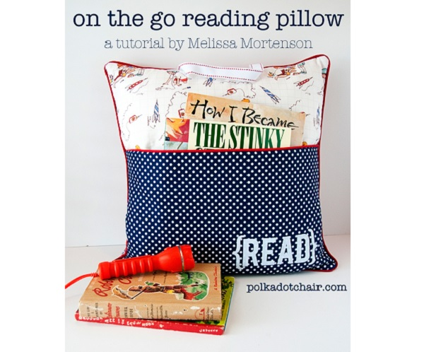Tutorial: On The Go Reading Pillow