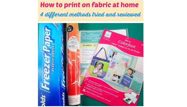 4 methods for printing on fabric with an inkjet printer