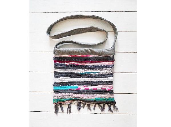 Tutorial: Rag rug bag