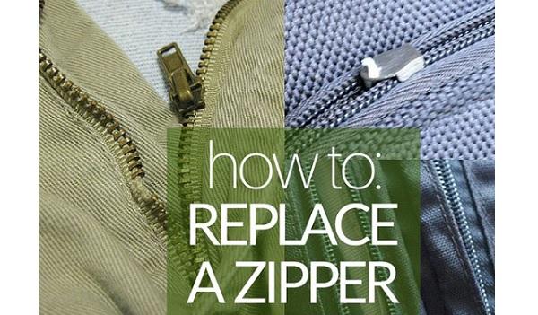 Tutorial: How to replace a broken zipper