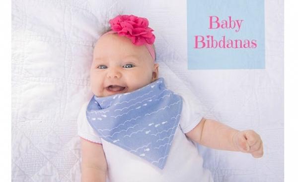 Tutorial: Easy bandana baby bib
