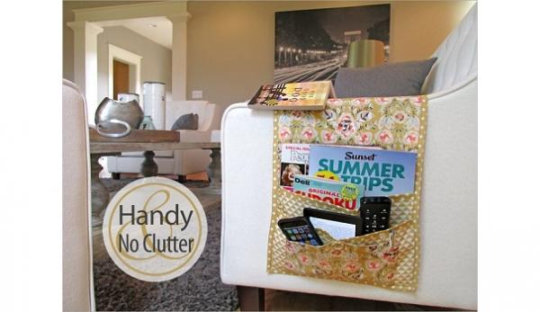Tutorial: Sofa arm organizer caddy