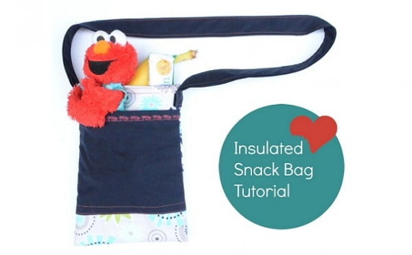 Tutorial: Insulated travel snack bag