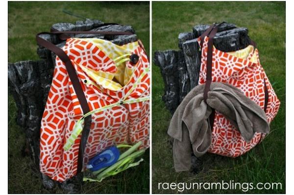 Free pattern: Ultimate Pool Bag