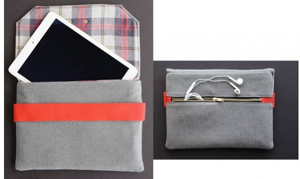 Tutorial: Wool iPad case, make it for Father's Day