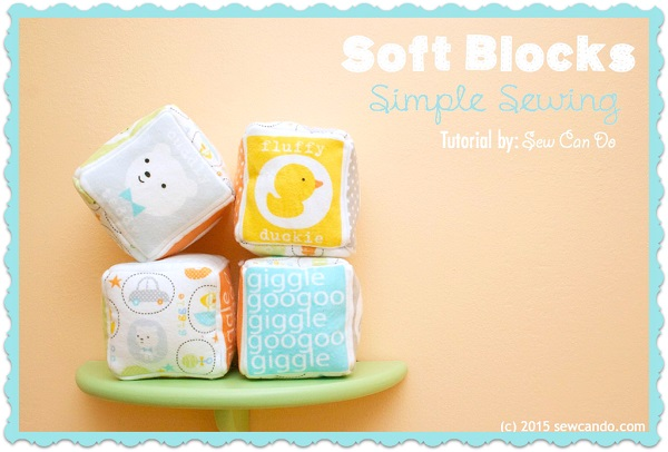 Tutorial: Soft blocks for baby