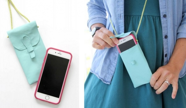 Tutorial: Little leather iPhone purse