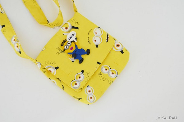 Tutorial: Messenger bag with your child's favorite character