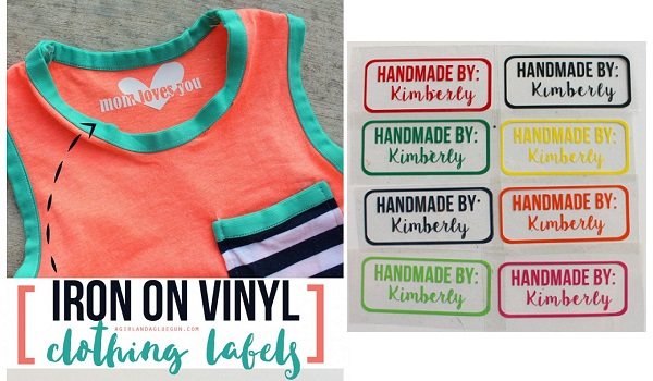 Tutorial: Tagless clothing labels using transfer vinyl