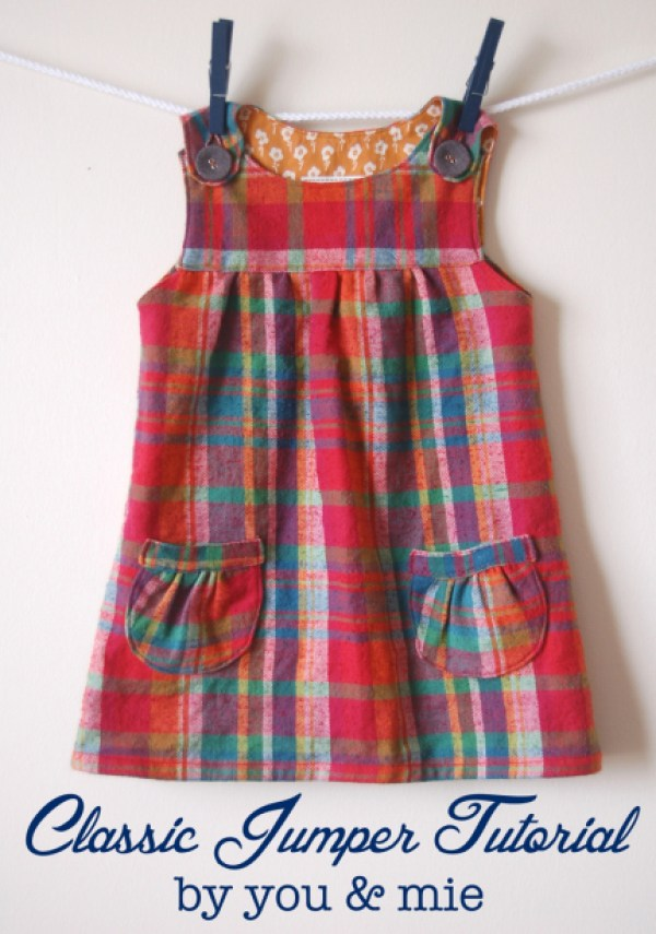 8 Patterns To Make An Adorable School Dress Sewing