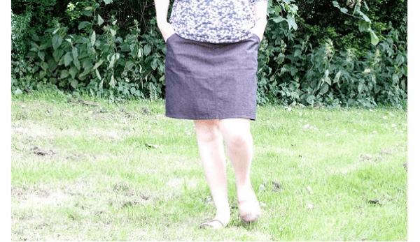 Tutorial: Any skirt to a maternity skirt in over-the-belly or under-the-belly variations