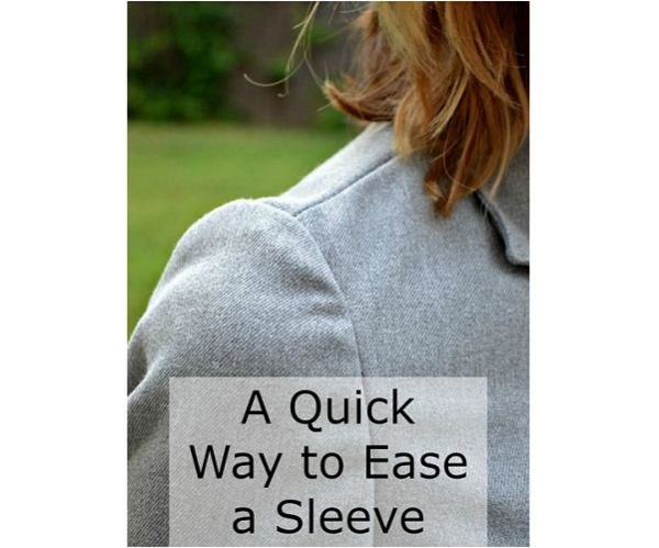 Tutorial: Quick method for easing in a sleeve