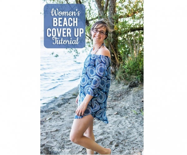 Free pattern: Women's beach coverup