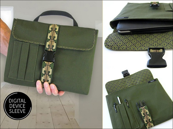 Tutorial: Satchel style tablet sleeve