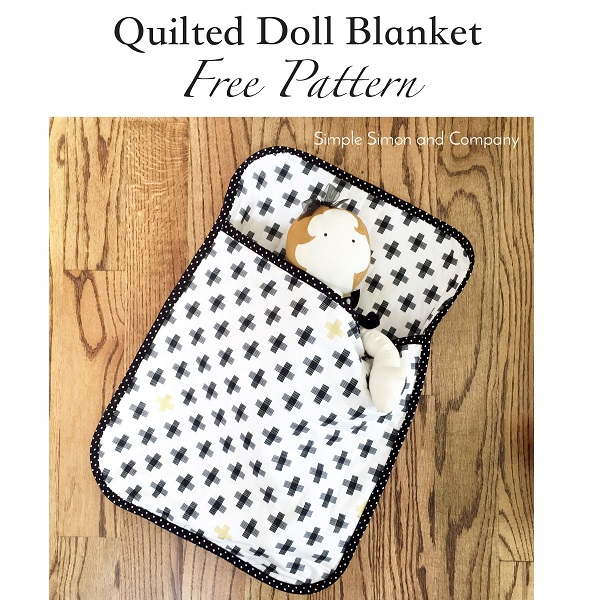 Tutorial: Quilted doll blanket