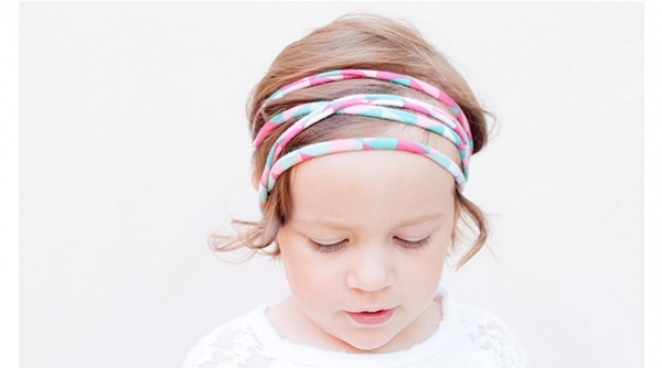 Tutorial: Super easy rolled knit fabric headbands