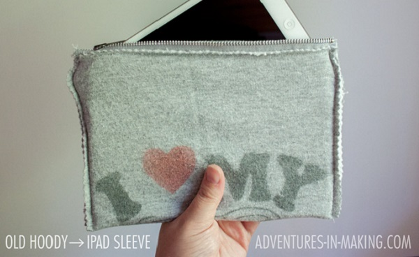 Tutorial: Sweatshirt iPad sleeve