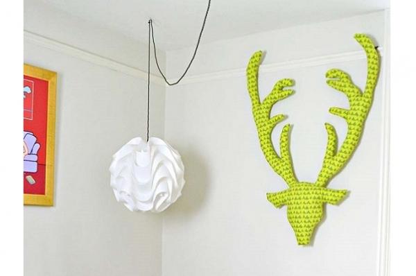 Tutorial: Fabric stag head