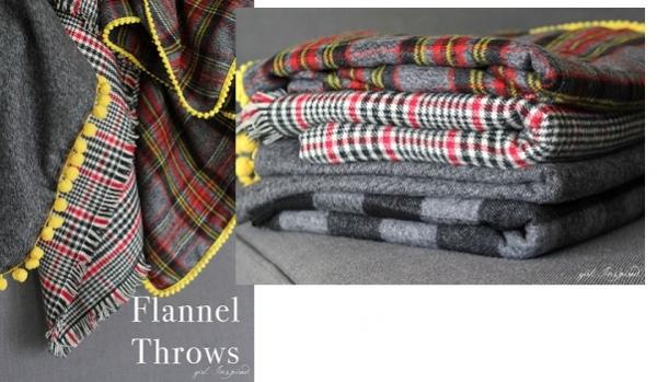 Tutorial: Simple flannel blanket with pom pom trim