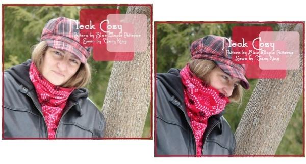 Free pattern: Neck cozy cowl scarf