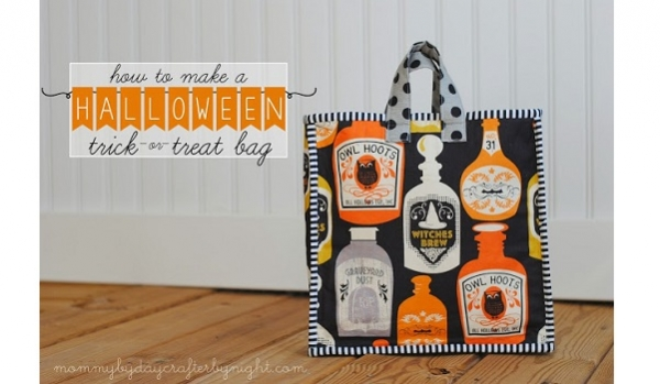 Tutorial: Trick or treat tote