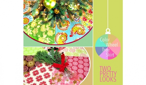 Tutorial: Patchwork Christmas tree skirt