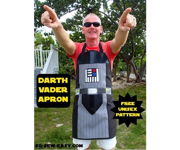 Tutorial: Darth Vader apron