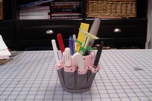 Tutorial: Mug caddy organizer wrap