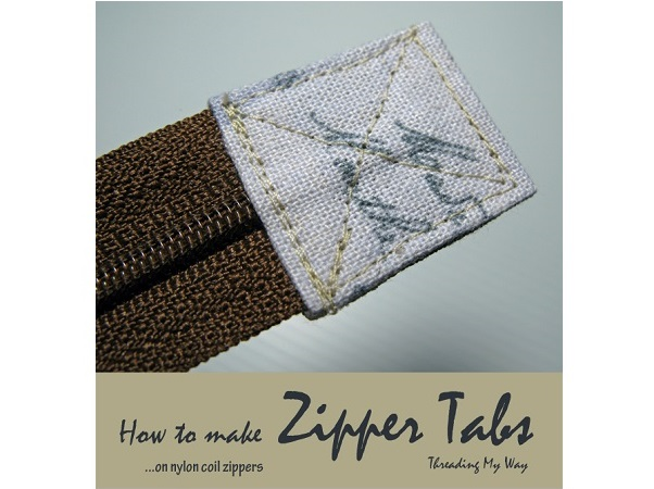 Tutorial: How to make a zipper tab