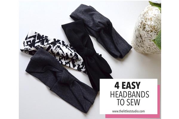Tutorial: 4 Ways to Make an Easy Knit Headband