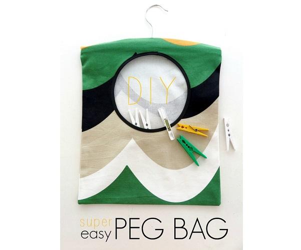 Tutorial: Easy peg bag