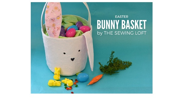 Free pattern: Easter bunny bucket basket